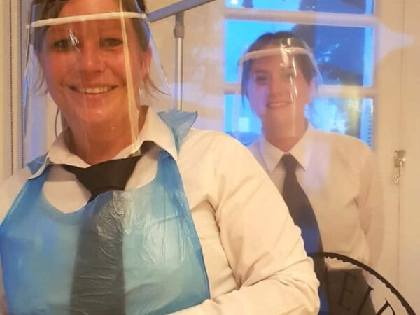 Pubs and Restaurants face visors